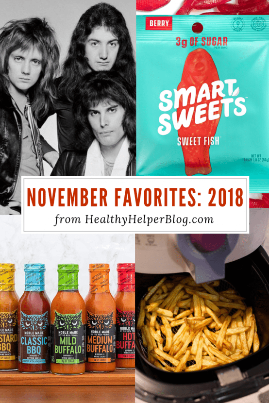 November Favorites: 2018 | Healthy Helper A roundup of my current favorite products, links, and things from around the web! Check out the list and find some new things to try for yourself.