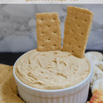 Low-Fat Vegan Peanut Butter Cream Cheese | Healthy Helper A simple, delicious recipe for peanut butter-flavored cream cheese. Two ingredients, incredibly easy to make, and perfect for rounding out a dessert table with fun dippers like fruit or pretzels!