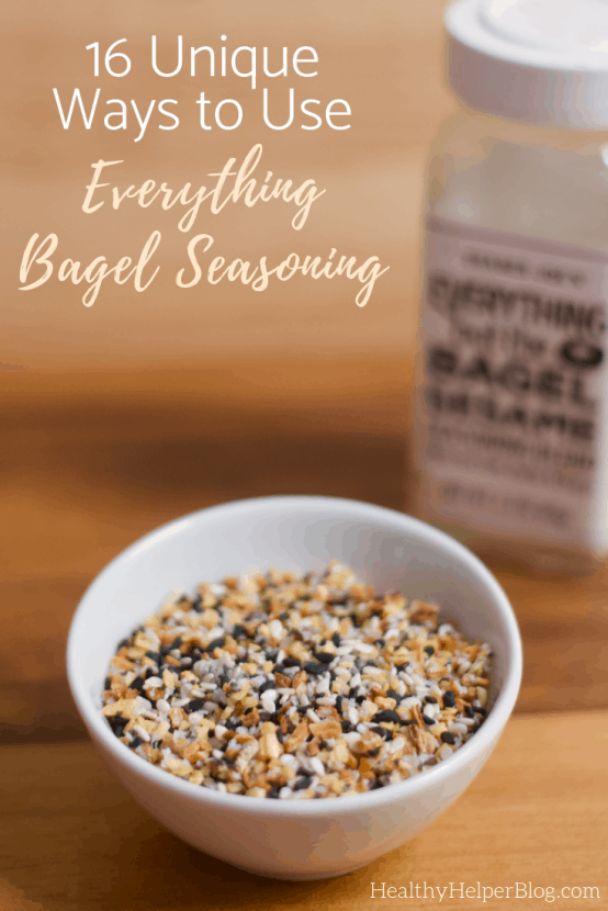 16 Unique Ways to Use Everything Bagel Seasoning | A roundup of unique and delicious ways to use Everything Bagel Seasoning!