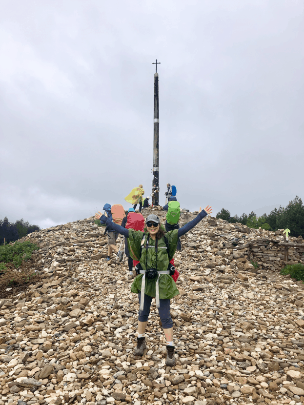 #HealthyHelperTravels: My Camino Travels | An in-depth list of all the equipment and gear I brought with me for my 350 mile hike across Spain on the Camino. Everything I brought, wish I had brought, and stuff I would leave at home for future backpacking trips.