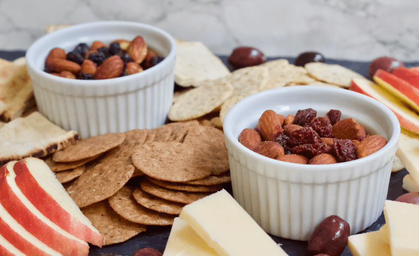 How to Build the ULTIMATE Gluten-Free Appetizer Platter | Your new go-to guide to building the ULTIMATE cheese, fruit, and nut appetizer platter.