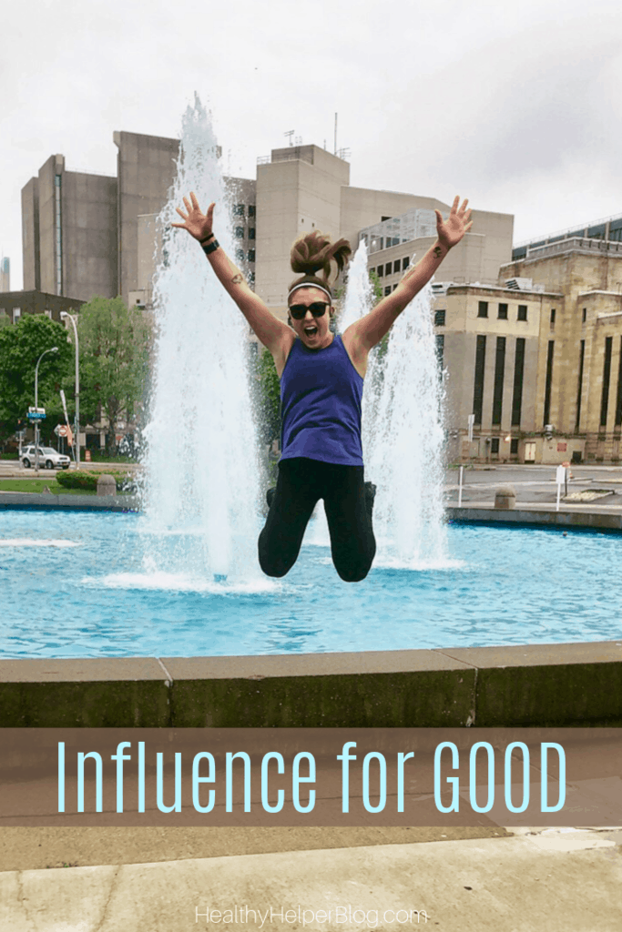Influence for GOOD | A discussion on how EVERYONE is an 'influencer' in their own way. Plus, thoughts on  how sharing our authentic selves and being vulnerable can help others work through their own struggles. All in an effort to INFLUENCE FOR GOOD.