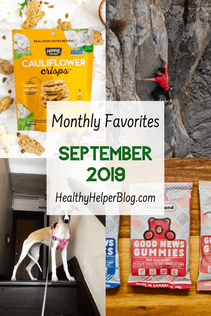 Monthly Favorites: September 2019 | A roundup of my current favorite products, links, and things from around the web! Check out the list and find some new things to try for yourself.