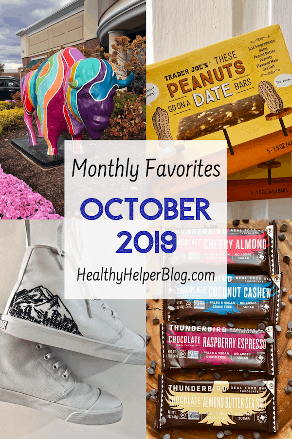Monthly Favorites: October 2019 | A roundup of my current favorite products, links, and things from around the web! Check out the list and find some new things to try for yourself.
