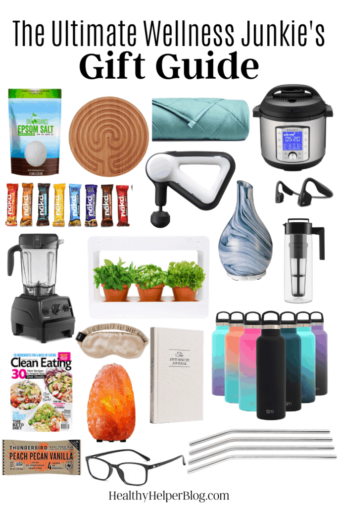 The Ultimate Wellness Junkie's Gift Guide | The ultimate round-up of gifts for the wellness junkie or healthy living enthusiast in your life. Everything they'll want and need to live their best life possible and go into to the new year feeling great!