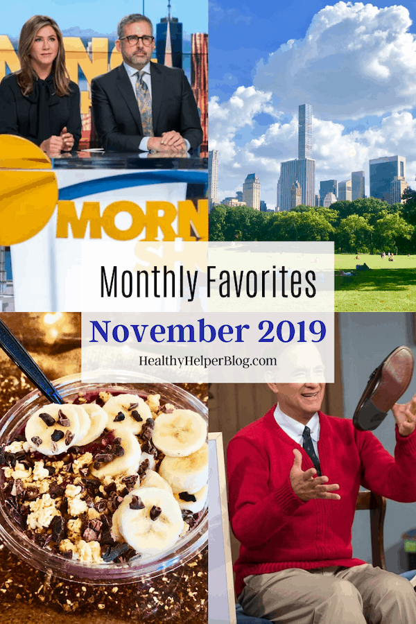 Monthly Favorites: November 2019 | A roundup of my current favorite products, links, and things from around the web! Check out the list and find some new things to try for yourself.