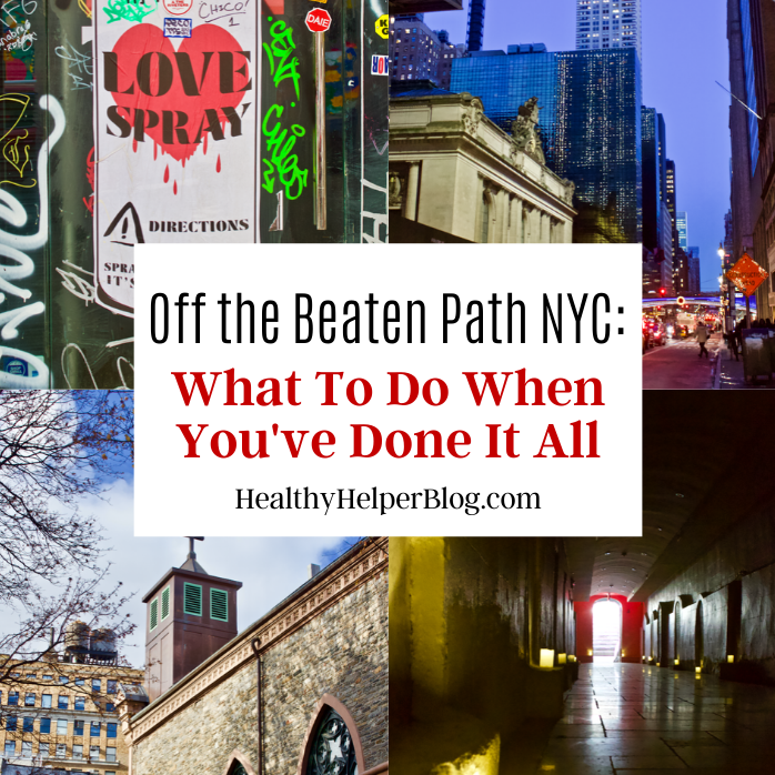 Off the Beaten Path NYC: What to do When You've Done it All | A unique travel guide for New York City filled with off the beaten path destinations and activities for people looking to avoid the crowds or tourist traps.