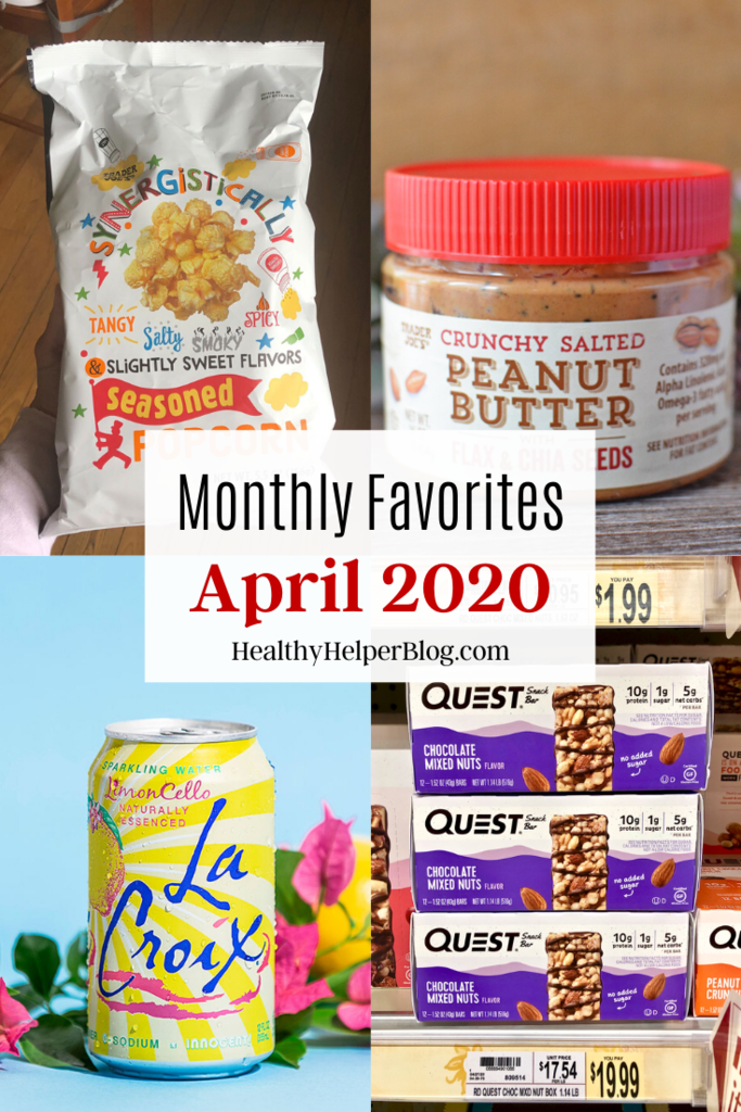 Monthly Favorites: April 2020 | A roundup of my current favorite products, links, and things from around the web! Check out the list and find some new things to try for yourself.