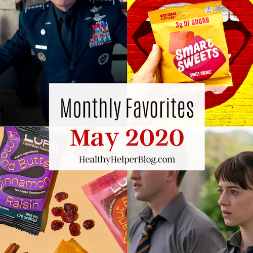 Favoritos mensais para maio de 2020 de Healthy Helper 1