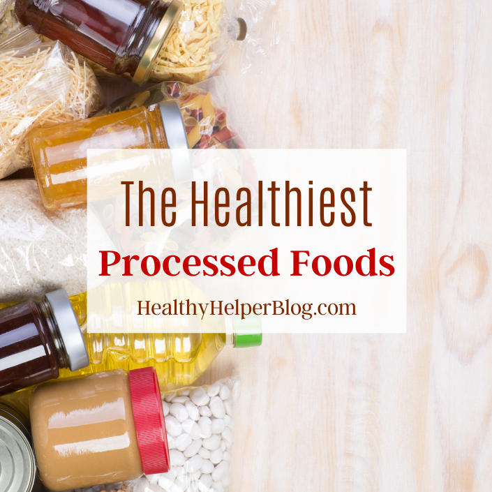 The Healthiest Processed Foods | Not all processed foods are created equal! Learn about the types of processed foods that are worth adding to your weekly grocery list and how they are just as healthy as fresh foods.